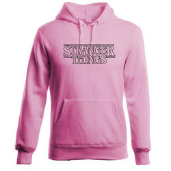 Hoodie Sweatshirts Pink Men Women Stranger Things - DealsBlast.com