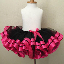 Baby Skirt Tutu Children Girl Tulle Chiffon Ribbon Fabric Photography Pettiskirt Cute kids Birthday Princess Party Tutu Clothing - DealsBlast.com