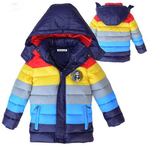 Winter Hooded Boys' Coat - DealsBlast.com