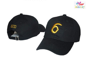 Dad Hat Women Cap Hat Men Drake 6 God Pray Cap Female Male Baseball Cap Black Snapback Street Hip Hop - DealsBlast.com
