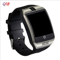 Q18 Watch With Camera Facebooks Twitter Bluetooth Smart Watch Support Sim TF Card For Apple ios Android Phone - DealsBlast.com