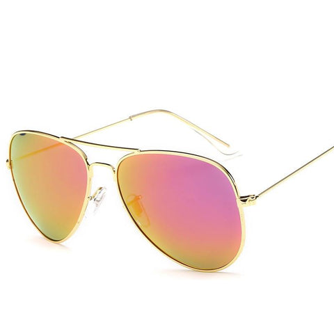 Brand Polarized Sunglasses Men Male Female Sun Glasses Brand Design Colorful Reflective Pilot Sunglasses Goggle Classic Eyewear