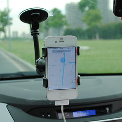 Car phone holder 360 Degrees Rotation Suction Cup holder stand for cell phone Iphone 7 6s Car GPS DVR - DealsBlast.com
