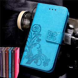 Leather Wallet with Silicone  Case  For Samsung Galaxy Grand Prime J1 J3 J5 A3 A5 2016 J1 Mini Core - DealsBlast.com
