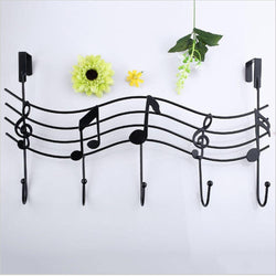 Metal Music Style Hook Hanger Organizer - DealsBlast.com