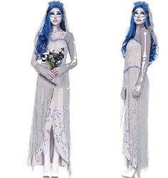 Corpse Bride Vampire game uniforms zombia/Vampires/Devils/Angel halloween costumes for women - Deals Blast