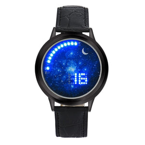 Creative LED Electronic Multi functional Sports Women Wrist Watch