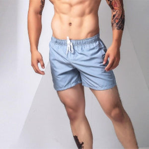 Summer Quick Dry Men's Swimming Trunks Sports Male Surf Boxer Pocket Shorts - DealsBlast.com