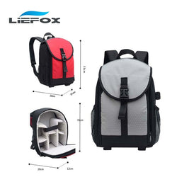 Digital SLR Camera Bag DSLR Backpack Video Photo Bags for Camera Canon Sony d3200 d3100 d5200 Small Compact Camera Backpacks - Deals Blast