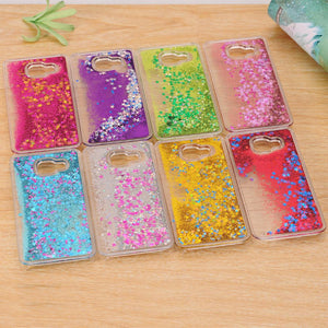 Dynamic Liquid Bling Star Quicksand capa Case for Samsung Galaxy A3 A5 A7 J1 J2 J3 J5 J7 2016 Grand Prime S5 S6 S7 Edge S8 Plus - DealsBlast.com