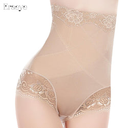 Slimming High Waist Underwear Women Shapewear Briefs Thin Mid-lumbar Abdomen Hips  Lace Lingerie Boxers Body Shapers - DealsBlast.com