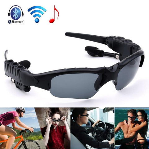 Earphone Wireless Headphone Bluetooth Stereo Music Phone Call Hands free Sunglasses Headset For iPhone for Samsung