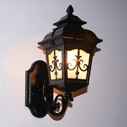 Vintage Bronze Aluminum Villa Waterproof Outdoor Wall Lamp - DealsBlast.com