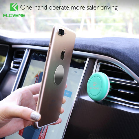 Magnetic Car Phone Holder For iPhone 6 6S 7 Plus Samsung Huawei P10 P8 P9 Mate 9 Xiaomi mi5 Air Vent Outlet Mount Stand