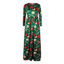 Green Dress Sexy Pleated Women Dress Vintage Dresses Christmas Gift - DealsBlast.com
