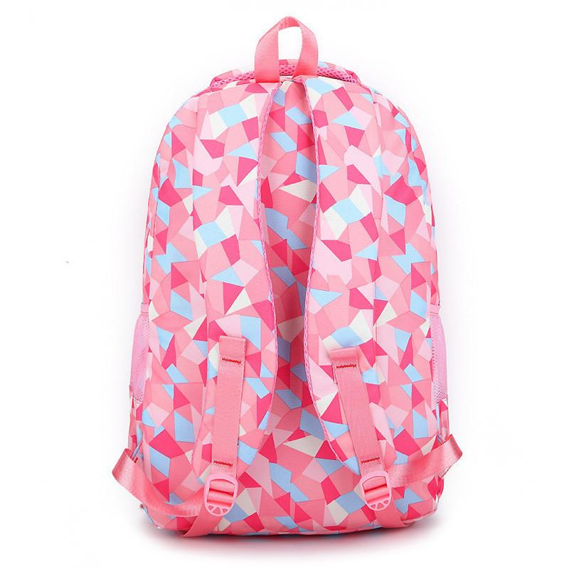 fashion girl school bag waterproof light weight girls backpack bags pr. Black Bedroom Furniture Sets. Home Design Ideas