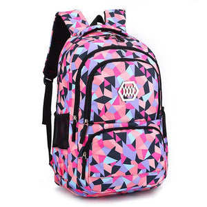 Fashion Girl School Bag Waterproof light Weight Girls Backpack bags printing backpack child - DealsBlast.com