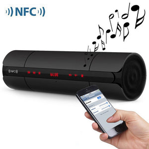 Bluetooth Speaker NFC Wireless Stereo With Bass FM Radio TF Card USB Drive Music 3.5mm Audio Input KR8800 - DealsBlast.com