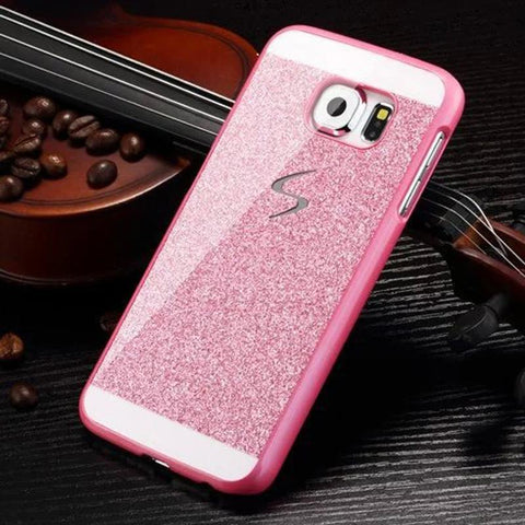 Diamond Flash Case For Samsung Galaxy S7 edge S6 Note7 3D Phone Cases