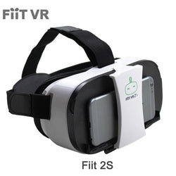 VR 2S Head Mount 3 D Cardboard Virtual Reality Goggles VR Headset Glasses Phone 3D Video Game Private Theater+Controller - DealsBlast.com