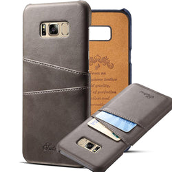Samsung Galaxy S8 Case luxury Wallet Leather holster Protective Cover Case Card Slot Cover For Samsung S8 Plus - DealsBlast.com