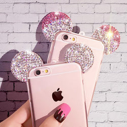 For iPhone 7 6s Plus 5 5s Rhinestone Phone Cases - DealsBlast.com