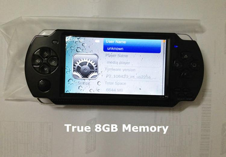 Handheld Game Console 4 3 inch Screen mp4 player MP5 game