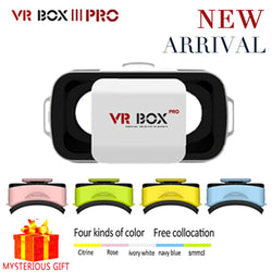 VR BOX 3.0 III PRO Virtual Reality Goggles For Smartphone Helmet Headset