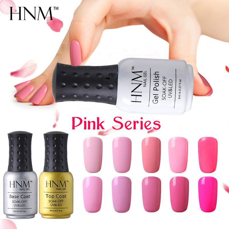 24 Pink Purple Color Nail Polish Long Lasting Nail Varnish Platinum Ve