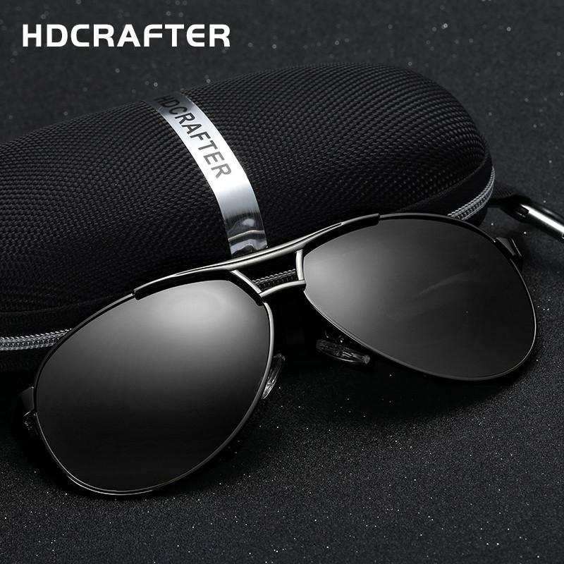 Fashion Men's UV400 sunglasses mirror Eyewear Sun glasses for men with case box