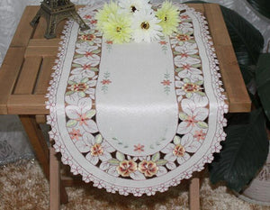 Cloth embroidery table placemat - Deals Blast
