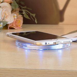 Universal Wireless Charging Pad for iPhone & Android