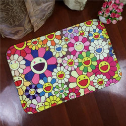 Home Textile Soft Cute Sunflower Flannel Carpets For Kids - DealsBlast.com