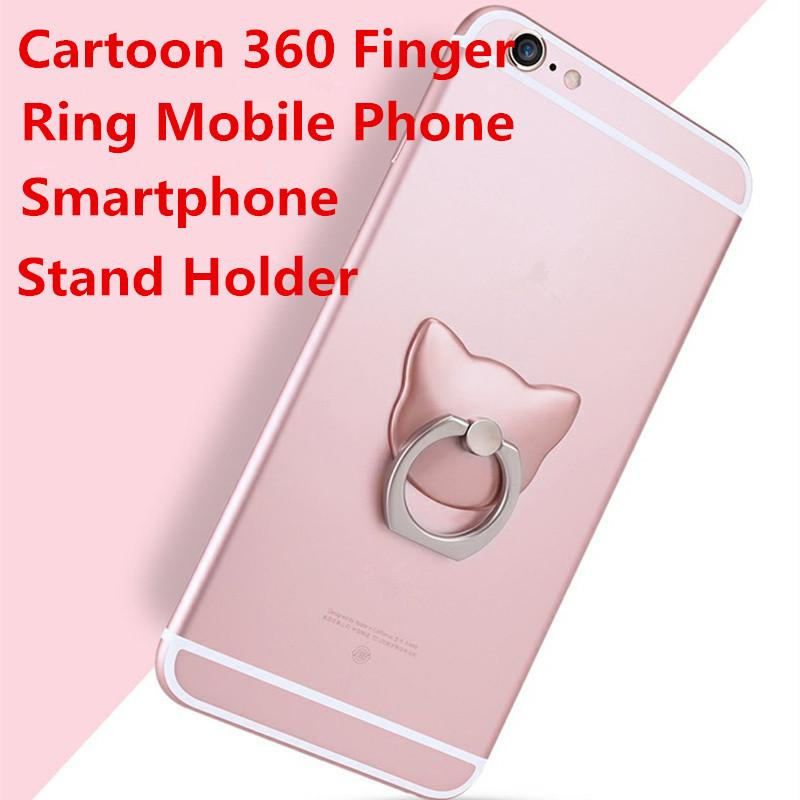 Hot Finger Holder with Anti-fall Phone Smartphone stand Mount For Apple iphone  7 Samsung 6fb05dc16a1