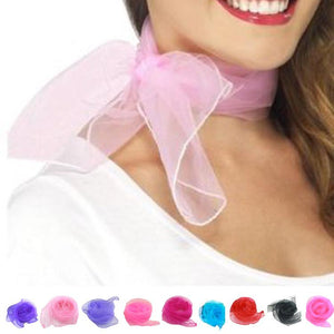 Spring Summer Autumn Thin Silk Scarves Chiffon Georgette Women Scarf Summer Sun Headscarf Small Square Scarf - Deals Blast