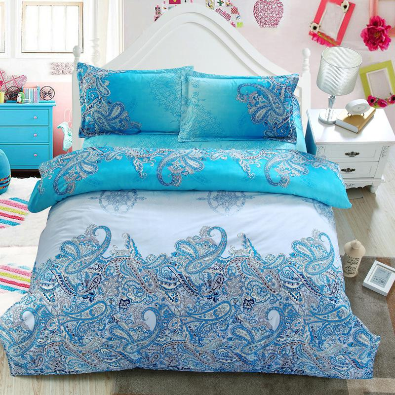 Blue Bohemian Bedding Set - DealsBlast.com