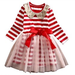 Christmas  girls dresses for party and wedding Kids Dress Children's Clothing - Deals Blast