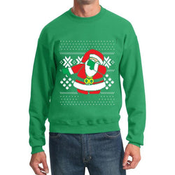 Printed Hoodies Woman Man Santa Crewneck Sweatshirt Ugly Christmas Clothing Size S-XXL - Deals Blast