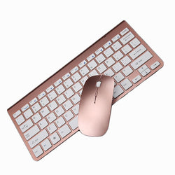 Hot Ultra Slim Thin Design 2.4GHz Wireless Keyboard With Cover With Mouse Mice Kit For Desktop Laptop PC Computer Keyboard Set - DealsBlast.com