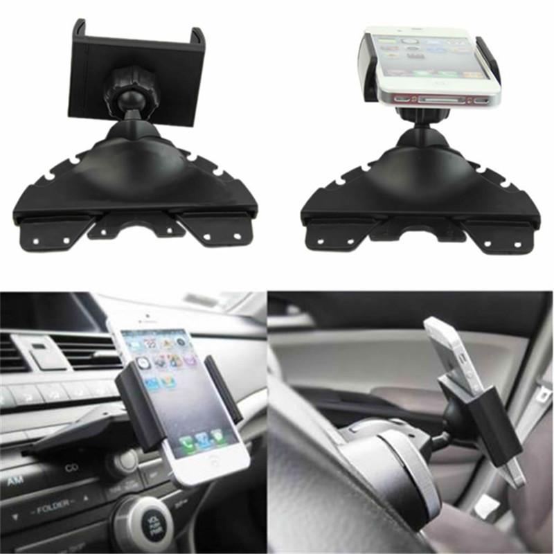 Hot sale Universal Car Mount Holder CD Player Slot Cradle for Smartphone Mobile Phone