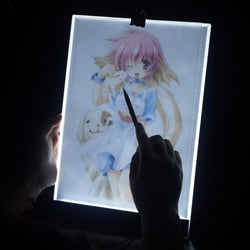 Digital Tablet 13.2x9.17 inch A4 LED Artist Thin Art Stencil Tracing USB Drawing Table Pad Board - DealsBlast.com