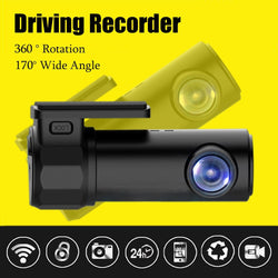 KROAK 1080P Mini Wifi HD Car DVR Video Vehicle Camera Registrar Video Recorder Dash Cam Night Vision - DealsBlast.com