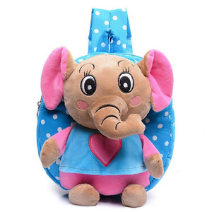 Kid cartoon elephant backpack kids kindergarten cute schoolbag baby girl children school bags mochila escolar gift good quality - DealsBlast.com