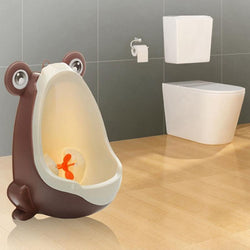 Lovely Frog Kids Potty Removable Toilet  For Early Learning Boys Pee Trainer Bathroom - DealsBlast.com