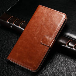 Luxury Leather Flip Leather Wallet Case For Samsung Galaxy S7 Edge S6 S5 A3 A5 A7 J5 J7 Grand Prime Cover Phone Cases - DealsBlast.com