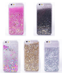 Luxury Rainbow Unicorn Horse Twinkle Glitter Star Flowing Liquid Phone Case For iPhone 4 4S 5 5s SE 5C 6 6s 7 plus Plastic Cover - DealsBlast.com