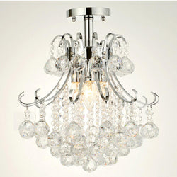 Decorative 3 Lights Crystal Chandeliers Modern Light Fixtures For Kitchen - DealsBlast.com