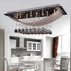 Modern Led Ceiling Chandelier Crystal Light Fixtures - DealsBlast.com