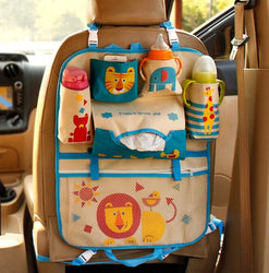 Cute Cartoon Car Seat Back Organizer Storage Bags Hanging Car Bags  for Kids Children - DealsBlast.com