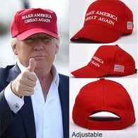 Make America Great Again Hat Donald Trump Cap Adjust Mesh Baseball Cap patriots Hat Trump for president - DealsBlast.com
